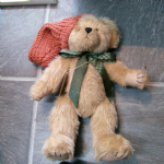 "BOYDS BEARS RETIRED COLLECTIBLE 12"" PLUSH HUBERT HARVESTBEARY 904435 tagged @sold@"